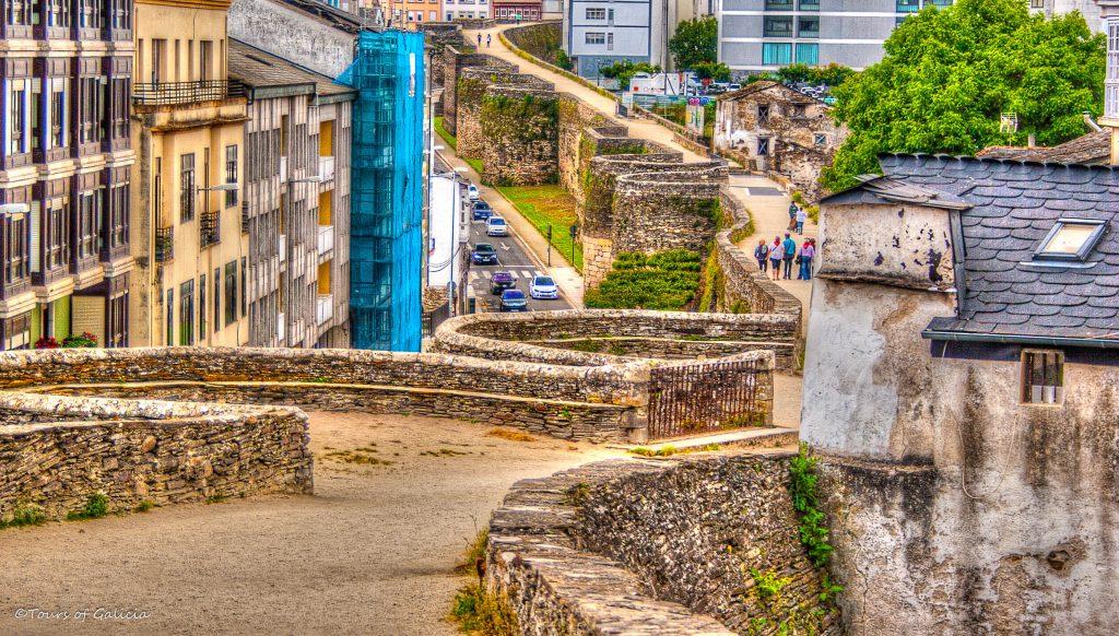 Lugo Roman Wall