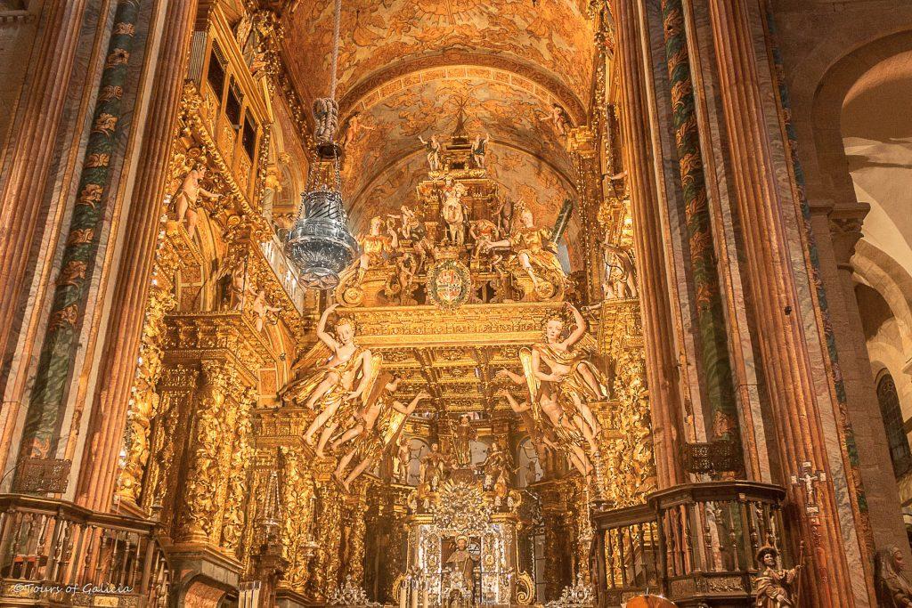 Main Altar Santiago cathedral